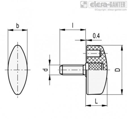Лепестковые ручки CT.476-p – Чертеж 1