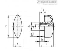Лепестковые ручки CTL.476-B – Чертеж 1
