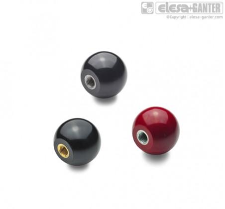 Шарообразные ручки DIN 319-KU – фото 1