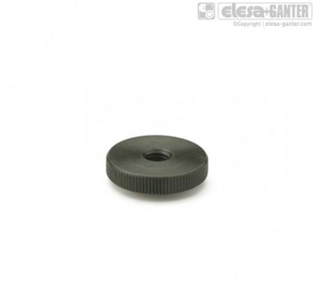Плоские гайки с насечкой DIN 467 – фото 1