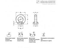 Рым-болты DIN 582-A4 – Чертеж 1