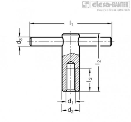 DIN 6305 – Чертеж 1