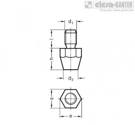DIN 6320 – Чертеж 1