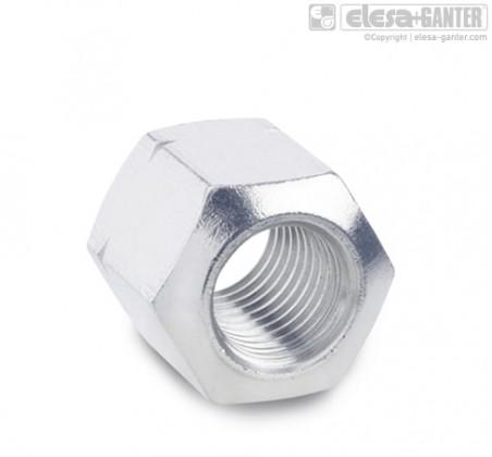 Шестигранные гайки DIN 6330-NI – фото 1