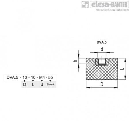 Виброгасители DVA.5 – Чертеж 1