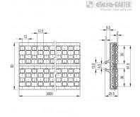 Боковые направляющие с роликами GLA-2-RS – Чертеж 1