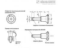 GN 113.10 с ручкой из нержавеющей стали, материал плунжера – сталь AISI 630с ручкой из нержавеющей стали, материал плунжера – сталь AISI 630