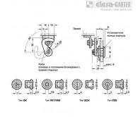 Крючковидные замки GN 115.8-NL – Чертеж 1