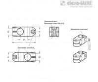 Двусторонние зажимные соединители GN 131-NI – Чертеж 1