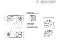 Двусторонние зажимные соединители GN 131 – Чертеж 1