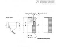 Кольцевые шкалы GN 164 – Чертеж 1