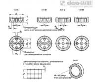 Аксессуары для зубчатых опорных пластин GN 187.4 – Чертеж 1