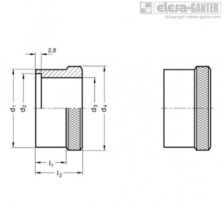 Кольца с градуировкой GN 264 – Чертеж 1