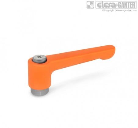 Плоские регулируемые ручки рычажного типа GN 302.1 – фото 2