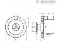 Предохранительные маховики GN 327-D – Чертеж 1