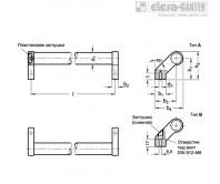 Трубчатые ручки GN 333-SW – Чертеж 1