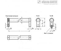 Трубчатые ручки GN 333.1-ES – Чертеж 1