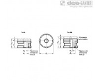 Комплекты для выравнивания GN 350.1 – Чертеж 1