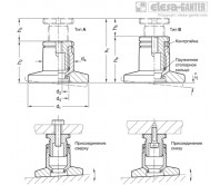 Комплекты для выравнивания GN 360-NI – Чертеж 1