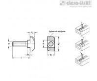 GN 505.5 Дополнительные части для профильных систем Дополнительные части для профильных систем