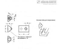 Гайки для Т-образных пазов GN 506.1 – Чертеж 1