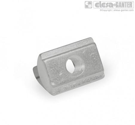 GN 506.2 аксессуар для систем из профильных материалов, с пружинной шайбой аксессуар для систем из профильных материалов, с пружинной шайбой