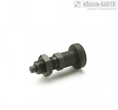 Штифты стопорные (фиксаторы) GN 617 (Steel with Plastic knob) – фото 1