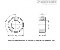 Установочные кольца GN 705-ZB – Чертеж 1