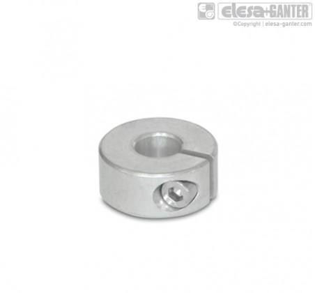 Полуразрезные установочные кольца GN 706.2-AL – фото 1