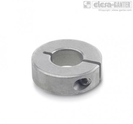 Полуразрезные установочные кольца GN 706.2-NI – фото 1
