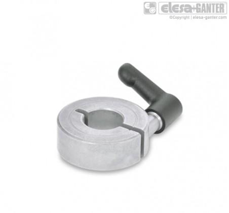 Полуразрезные установочные кольца GN 706.4-NI – фото 1