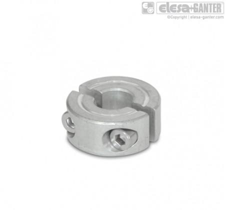 Разрезные установочные кольца GN 707.2-AL – фото 1