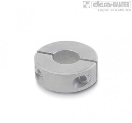 Разрезные установочные кольца GN 707.2-NI – фото 1