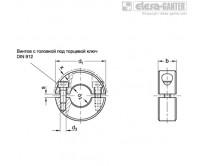 Разрезные установочные кольца GN 707.2-NI – Чертеж 1