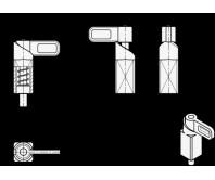 Пружинные защёлки GN 722.1 – Чертеж 1