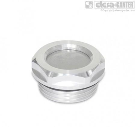 Вентиляционные сетчатые фильтры GN 7403-AL – фото 1