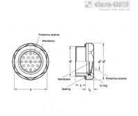 Двусторонние воздухопроницаемые мембраны GN 7404-AL – Чертеж 1