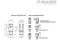 Вильчатые соединения GN 751-ST – Чертеж 1
