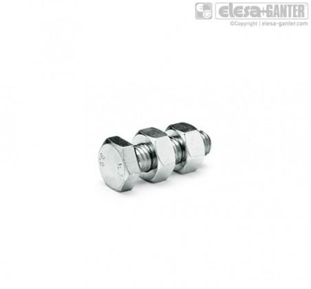 Шпиндельный узел с шарнирным зажимом GN 807 – фото 1