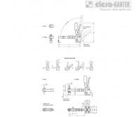 Вертикальные прижимы GN 810.3 – Чертеж 2