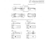 Замки натяжные с крюком GN 821 – Чертеж 1