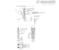 Шарнирно-рычажные зажимы GN 851.1 – Чертеж 1
