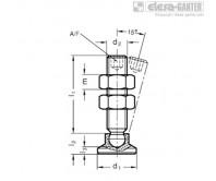 Шпиндельный узел с шарнирным зажимом GN 903-NI – Чертеж 2