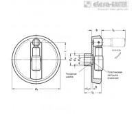 Монолитные маховики GN 923.7 – Чертеж 1