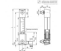 Столбиковые индикаторы уровня HCK-E-STL – Чертеж 2