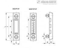 Столбиковые индикаторы уровня HCX-PT-VT – Чертеж 1