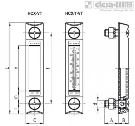 HCX-VT – Чертеж 1