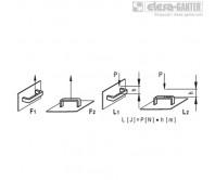 Мостовидные ручки M.443-SH – Чертеж 2