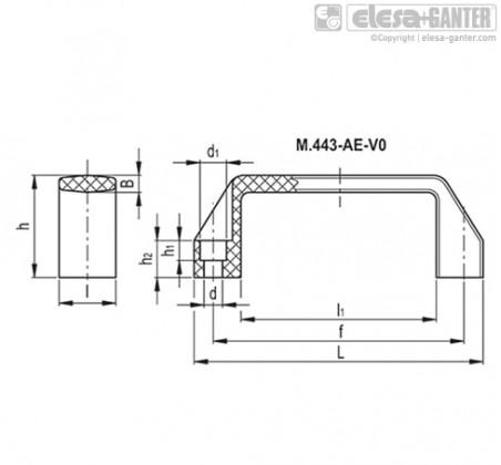 M.443 AE-V0 – Чертеж 2