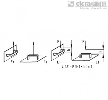 Мостовидные ручки M.843-CLEAN – Чертеж 2